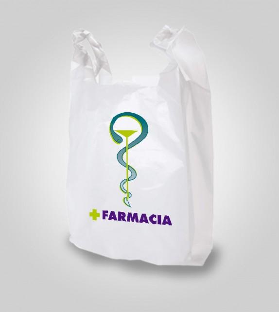 Paquete Bolsas de Camiseta 25x30 - 100 Uds