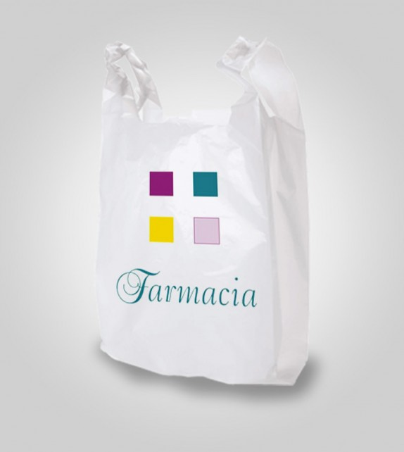Bolsa de Camiseta Biodegradable