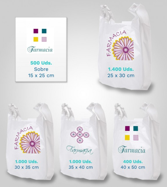 Lote 2 - Bolsas Biodegradables